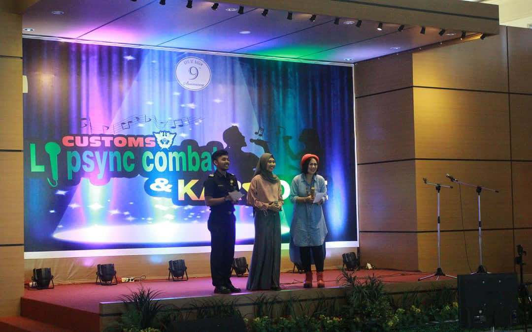 Customs Karaoke Contest KPU Day ke-9