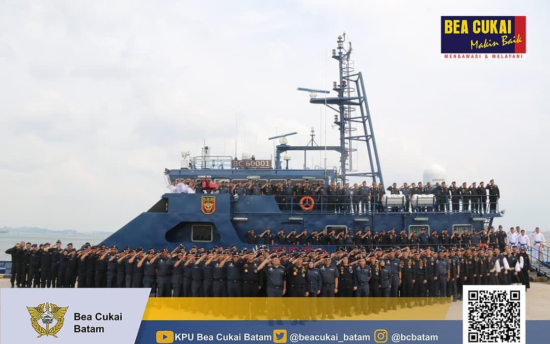 BEA CUKAI INDONESIA-MALAYSIA BERSINERGI BERANTAS PENYELUNDUPAN