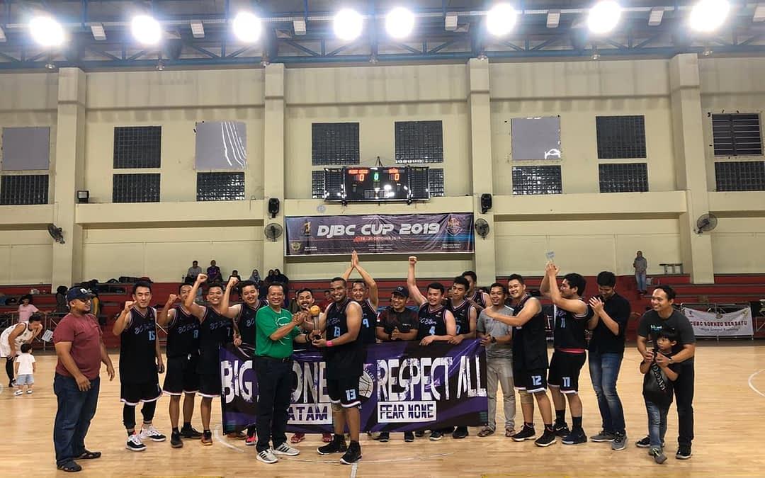 Raih Gelar Runner-up, Skuat Basket Bea Cukai Batam Lampui Target Juara Grup