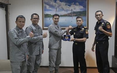 Sinergi Bea Cukai Batam dan Bakamla Kepulauan Riau