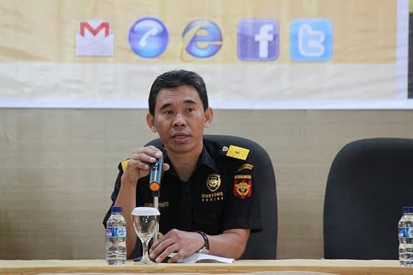 sambutan dari Basuki Suryanto